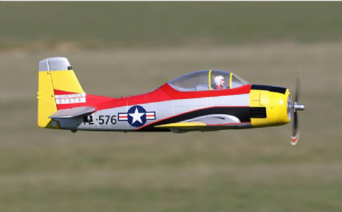 Arrow Hobby T-28 Trojan PNP with Retracts (1100mm)